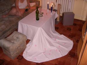 Takhle pro mě připravyl manžílek náš svatební pokoj