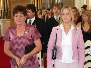 Radkova babička (maminka) a sestra
