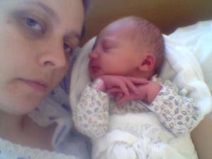 Moje dve Hviezdičky. Anka a moja babika Nelka.