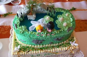 dort od ženichovy sestřenky všem moc chutnal!