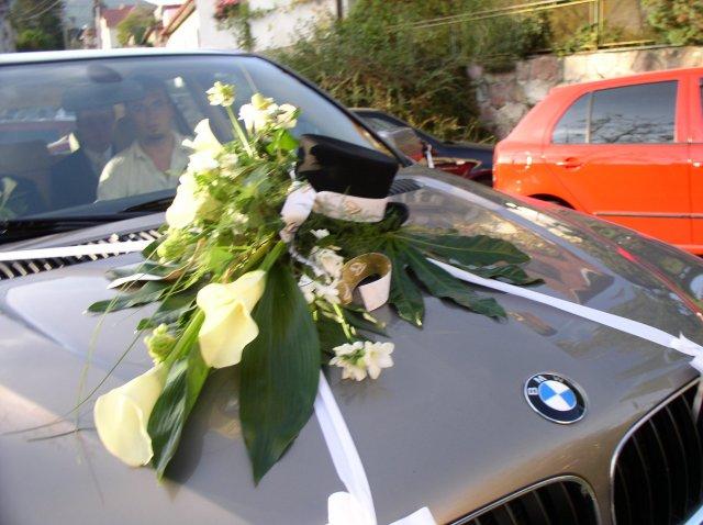 Vyzdoby svadobných  áut - Obrázok č. 71