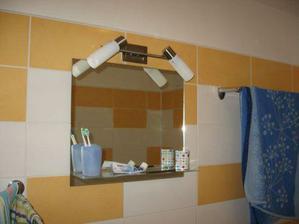 zabydlená koupelna