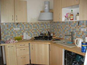 kuchyň celkový pohled