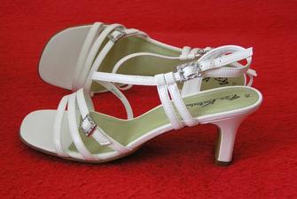 koupené svatební botečky