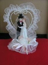 Figurky na náš svatební dort, už jsou doma