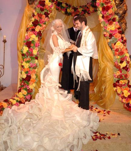 Slávne nevesty - Christina Aguilera