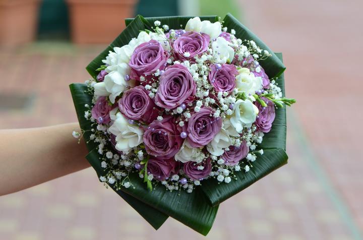 Svadobné kytice, možnosť aj kúpiť - Obrázok č. 16