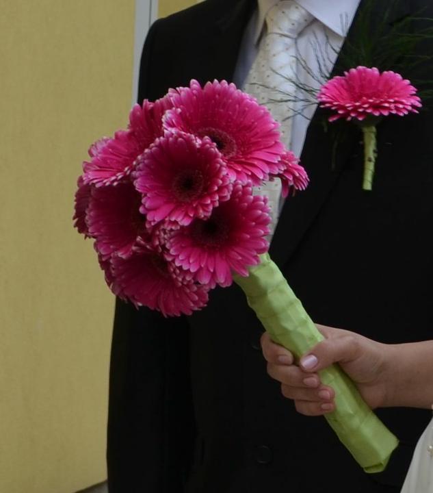 Svadobné kytice, možnosť aj kúpiť - Obrázok č. 9