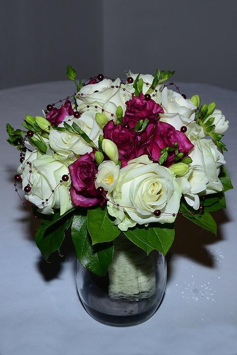 Svadobné kytice, možnosť aj kúpiť - Obrázok č. 18
