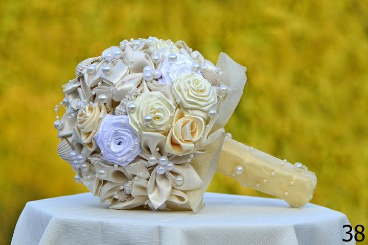 Svadobné kytice, možnosť aj kúpiť - Obrázok č. 89