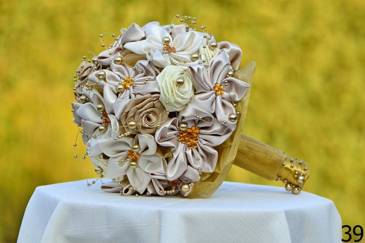 Svadobné kytice, možnosť aj kúpiť - Obrázok č. 90