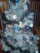 náš bílý stromek