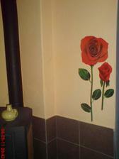 a vedle krbovek....růže