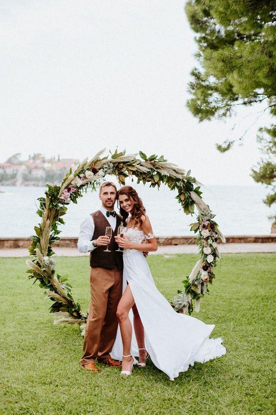 Svatba ve stylu Hula Hoop - Obrázek č. 5