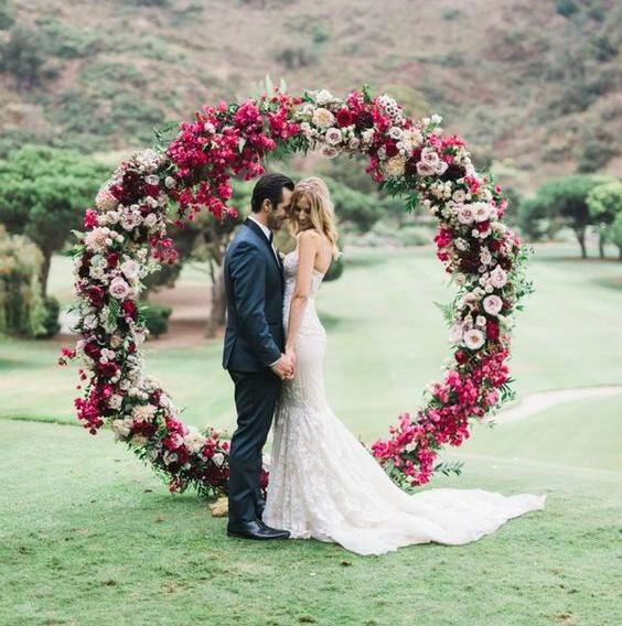 Svatba ve stylu Hula Hoop - Obrázek č. 16