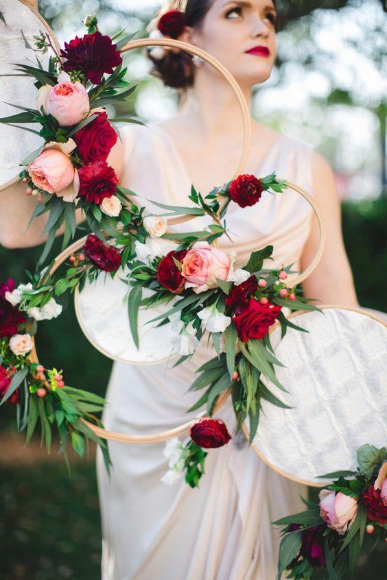 Svatba ve stylu Hula Hoop - Obrázek č. 27
