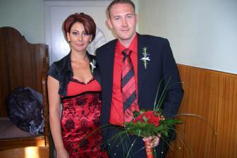 ešte s kytičkou v kostole :-)