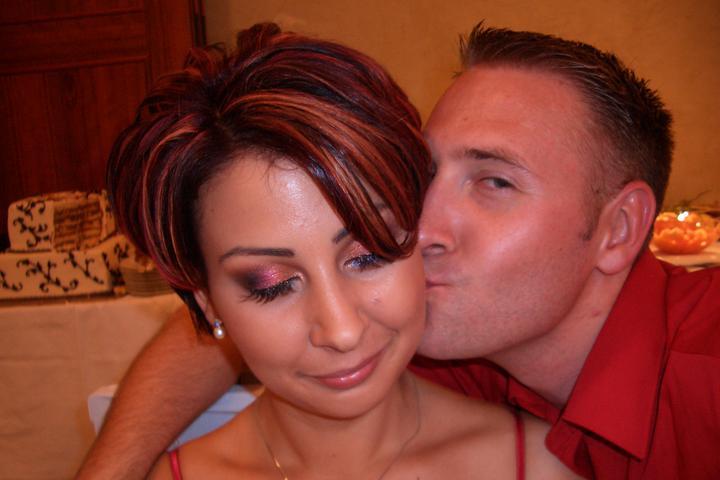 Takto sme vyzerali na známeho svadbe :-) som zvedavá ako budeme vyzerať na svojej :-) - Obrázok č. 9