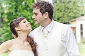 Značková svadobná vesta s kravatou, 54