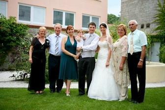 nasi rodicia a sestra Marika