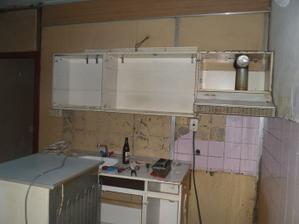 Stará kuchynská linka