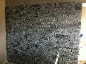 nová stena v obývačke