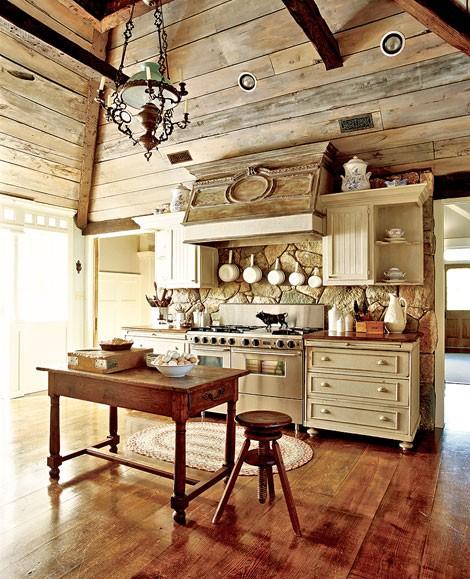 Rustikàlna kuchyňa, to je teplo domova - Obrázok č. 23