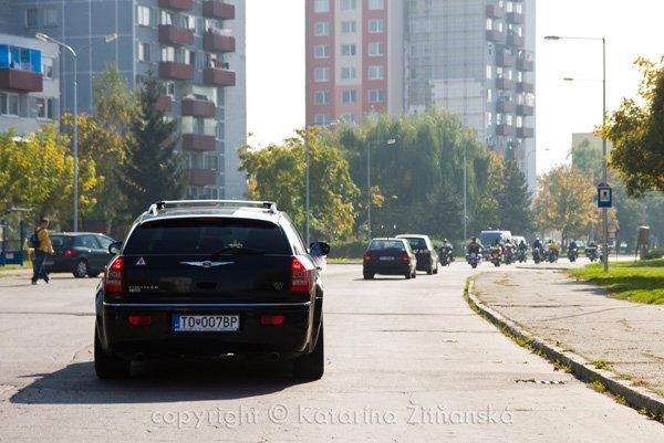 Janka & Peter 11.10.2008 - sv.auto a sprievod motoriek