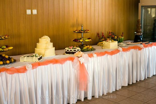 Janka & Peter 11.10.2008 - tortičky-ovocie-fontana