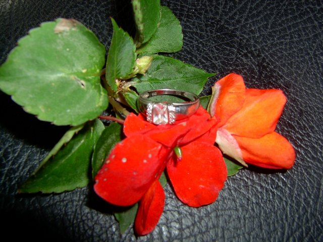 Janka & Peter 11.10.2008 - moj snubny prstienok