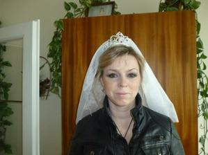 biker bride ready to go :o)