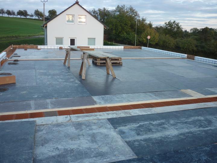 Příprava na betonové stropy - teď střecha-pak podlaha :-)