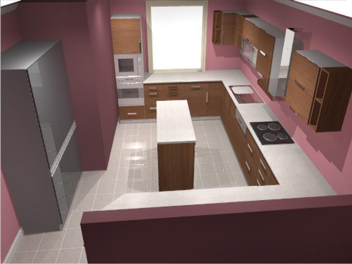 Moje představy ;-) - kuchyň č.2
