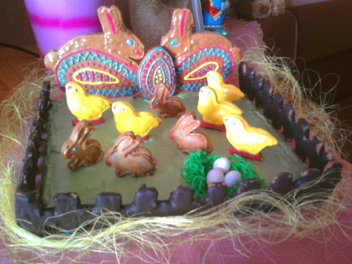 Moje výtvory - Velikonoční betlém ;-)