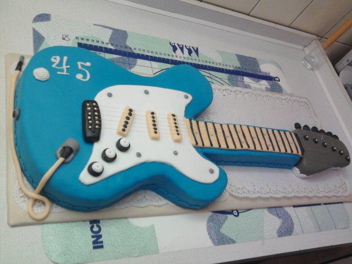 Moje výtvory - el. kytara