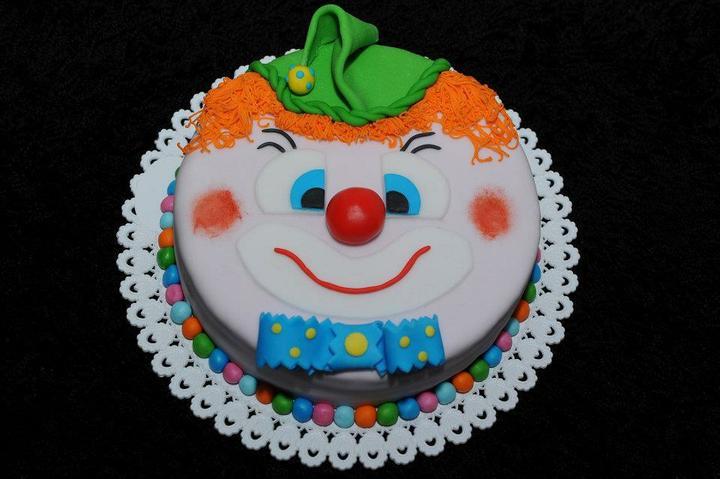 Moje výtvory - jeden z mnoha klaunů
