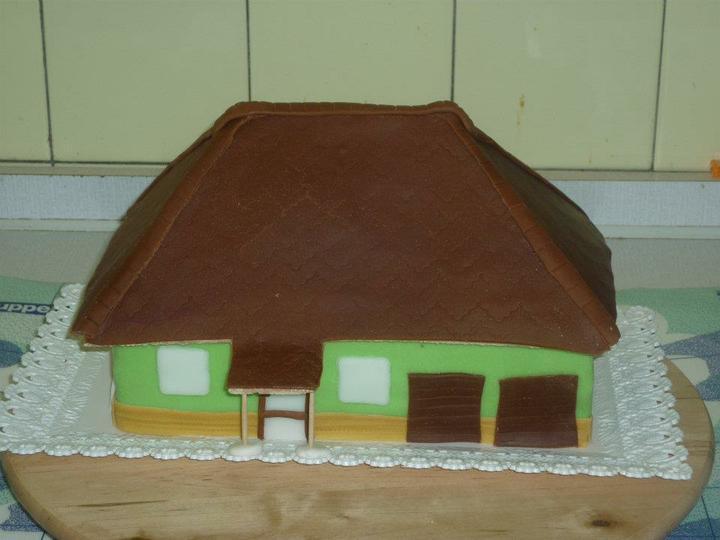 Moje výtvory - Takto nějak bude vypadat náš dům :-D :-D :-D