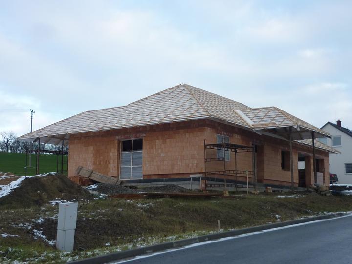 Střecha - celkový pohled bok