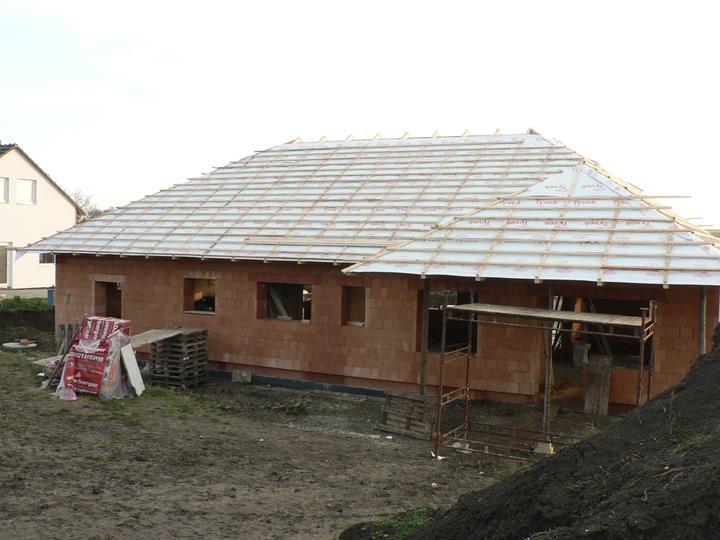 Střecha - celkový pohled zezadu