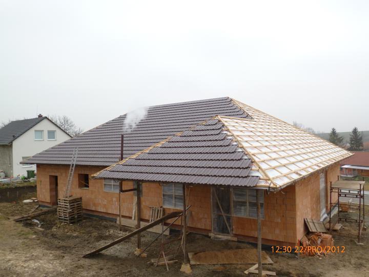 Střecha - ...ještě kousek...