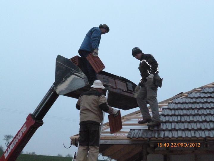 Střecha - Poslední kousek...!