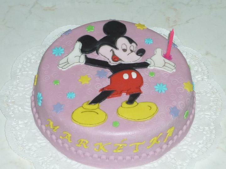 Moje výtvory - Mickey Mouse