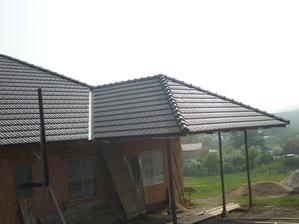 Už to vypadá jako hotová střecha ;-)