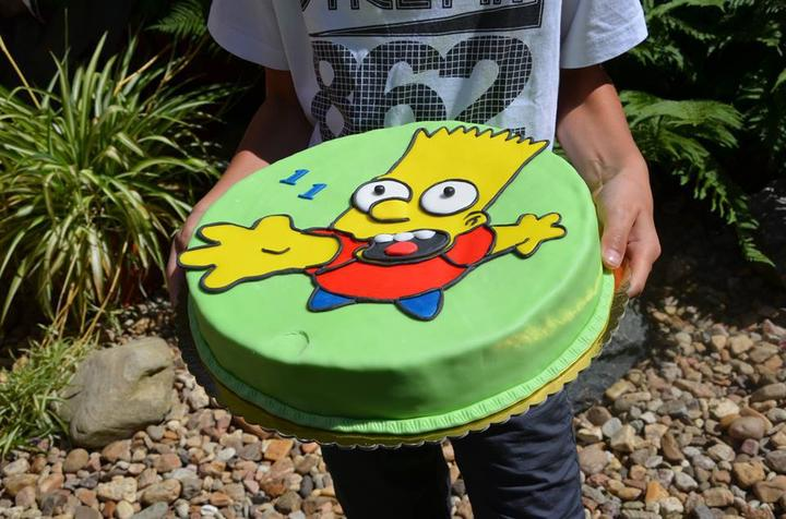 Moje výtvory - Bart Simpson