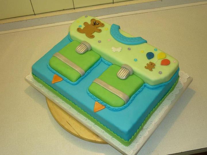 Moje výtvory - dort pro nastávajícího školáka ;-)
