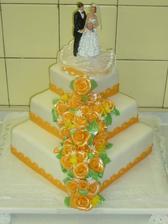 Svatební pro mého bráchu a úžasnou švagrovou ;-)