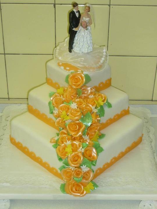Moje výtvory - Svatební pro mého bráchu a úžasnou švagrovou ;-)