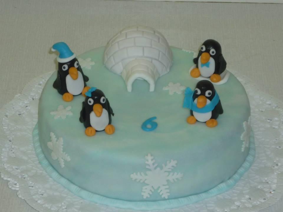 Moje výtvory - tučňáčci