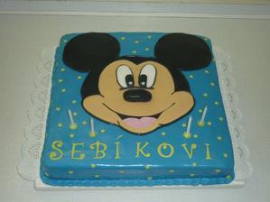 na přání s Mickey ;-)