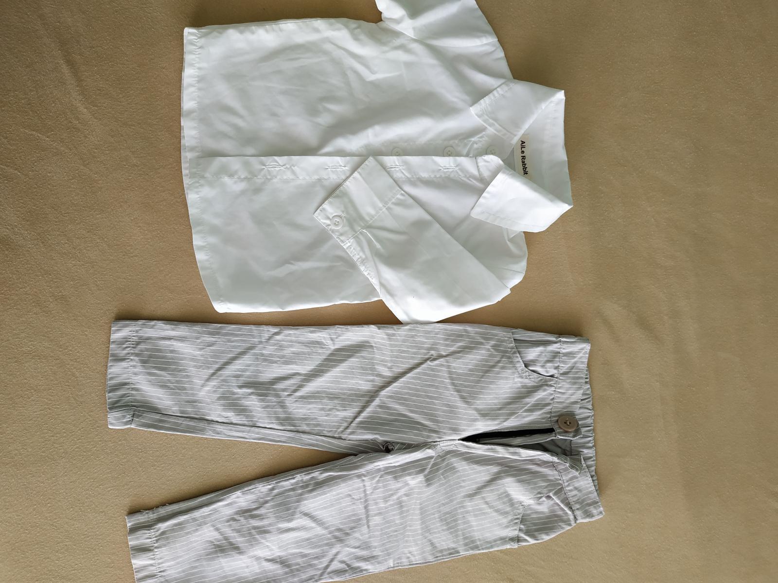 Společenský set košile a kalhoty - Obrázek č. 1